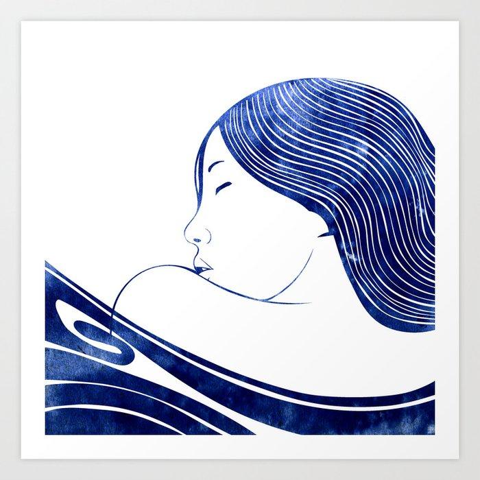 Nereid IX Art Print