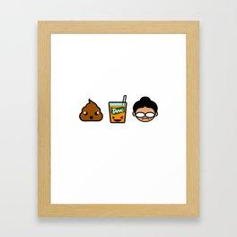 Poo Tang Ina Framed Art Print