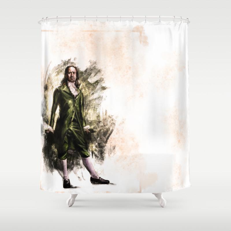 Non-stop Shower Curtain by Jazzysatindoll CTN8039302