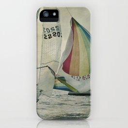 Spinnaker up iPhone Case