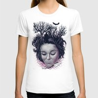 laura palmer T-shirts featuring Laura by Jorge Garza