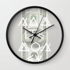 DYNAMITE MONEY Wall Clock