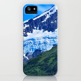 Whittier Glacier - I iPhone Case
