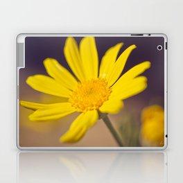 Bright Yellow Daisy - floral photography Laptop & iPad Skin
