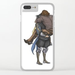 Smol & Strong Clear iPhone Case