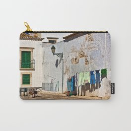Laundry day in Faro, Portugal Carry-All Pouch