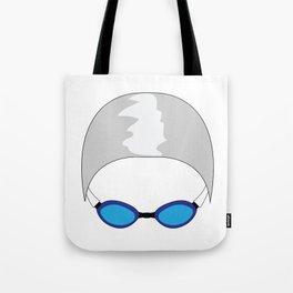 Swim Cap and Goggles Tote Bag