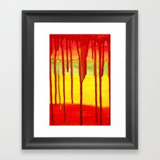 Bleed  Through Framed Art Print
