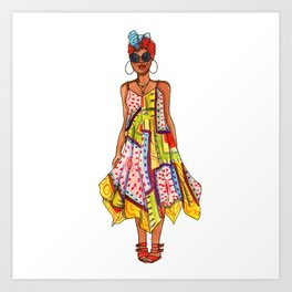 Sundress Art Print