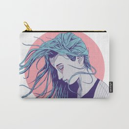 Girl in the Wind Carry-All Pouch