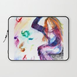 Swishing for Fishes Laptop Sleeve
