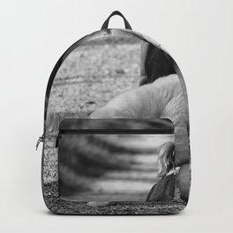 Girl And Teddy Backpack