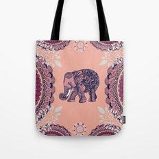 Bohemian Elephant  Tote Bag