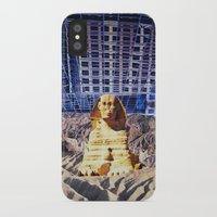 egypt iPhone & iPod Cases featuring Egypt 2079 by John Turck