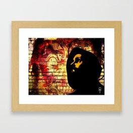 \hey \zeus Framed Art Print