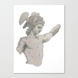 Perseus Study Canvas Print