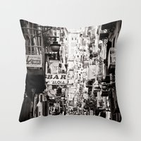 italy Throw Pillows featuring Italy  by Kráľ Juraj