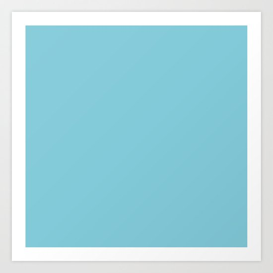 Dream Blue Art Print