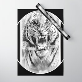 Big Cat Models: Mad Tigers 01-04 Wrapping Paper
