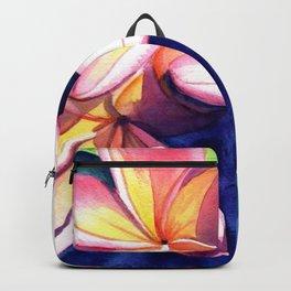 Plumeria Garden 3 Backpack