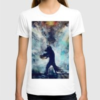 rocket raccoon T-shirts featuring Rocket Raccoon by Luca Leona