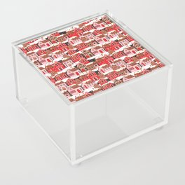 Gingerbread Village Acrylic Box