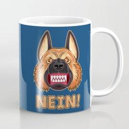 Doggy Says No Coffee Mug