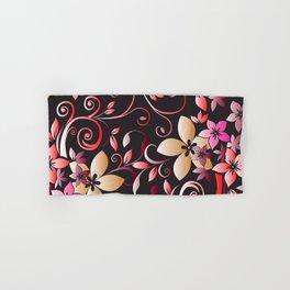 Flowers wall paper 6 Hand & Bath Towel