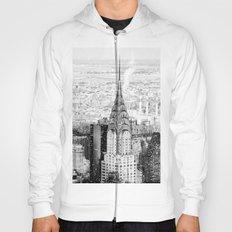 Snow - New York City - Chrysler Building Hoody
