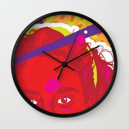 JESSIE :: Memphis Design :: Saved By the Bell Series Wall Clock