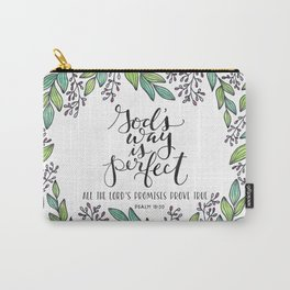 God's Way Is Perfect Carry-All Pouch