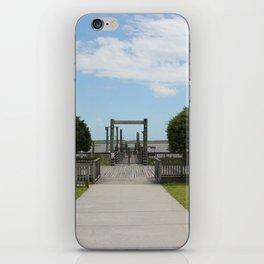 Ferry Dock To Bear Island iPhone Skin
