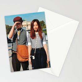 Parisian Mugshots - Cheeky Tourists Stationery Cards