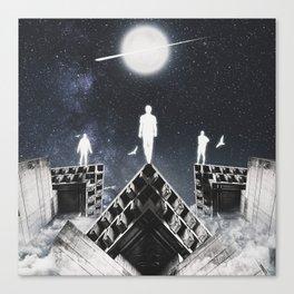 9th JULY - Full Moon Canvas Print