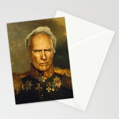 Clint Eastwood - replaceface Stationery Cards