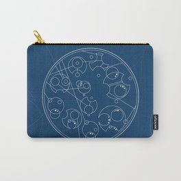 Circular Gallifreyan (Doctor Who) Carry-All Pouch