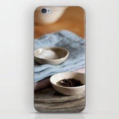 Salt&Pepper iPhone & iPod Skin