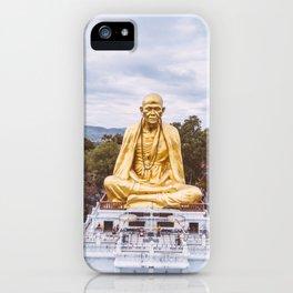 • Legacy • Thailand Monk Statue iPhone Case
