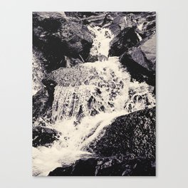 Waterfall 2, Colorado Canvas Print