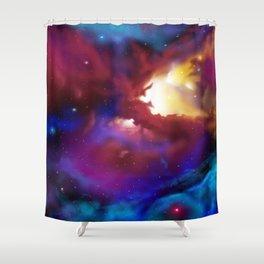 Bat Nebula  Shower Curtain
