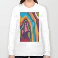 """pastel goth Long Sleeve T-shirts featuring """"Alien Goth"""" (7211) by DelusionalDiva"""