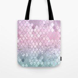 Mermaid Glitter Scales #2 #shiny #decor #art #society6 Tote Bag