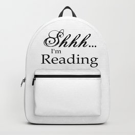 Shhh... I'm Reading Backpack
