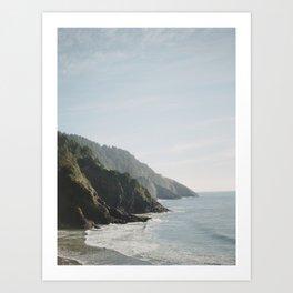 Cape Perpetua - Oregon Coastline - Fine Art Travel Photography Art Print