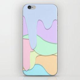 Dripping Pattern iPhone Skin