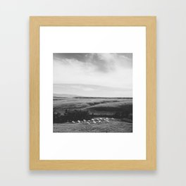 Small Camp Framed Art Print