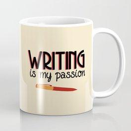 Writing Is My Passion Coffee Mug
