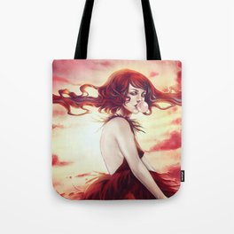 Fire Storm Tote Bag