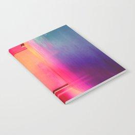 Neon Hallways Notebook