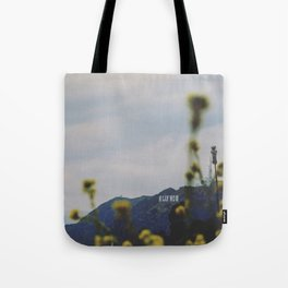 Quiet Hollywood Tote Bag